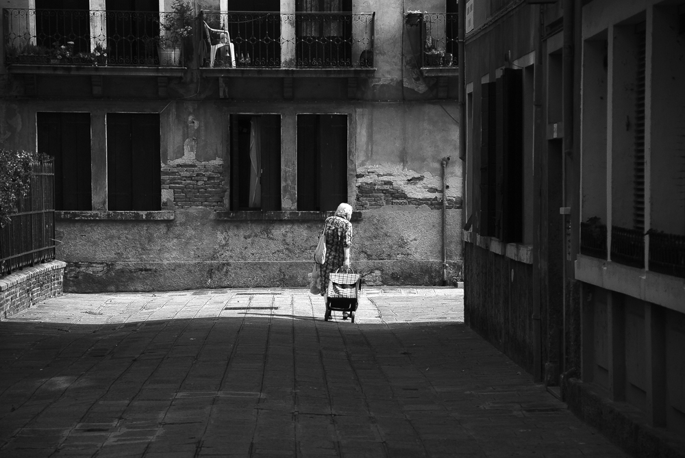 boodschappen doen in venetië | © bert westenbrink