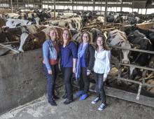 Vier zussen willen boer worden