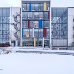 Mondriaan in Trondheim. © blue ice | bert westenbrink