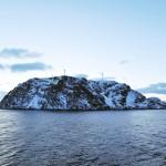 Norsk Hydro bouwde bij Havøysund het meest noordelijke windmolenpark ter wereld. © blue ice | bert westenbrink