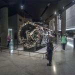 Memorial Hall 9/11. Op de plek van de Twin Towers worden resten van de gebouwen tentoongesteld / © blueice | bertwestenbrink