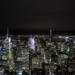 Nightview from the Empire State Building / © blueice | bertwestenbrink