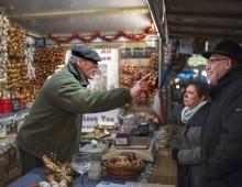 Claude Maïnella verkoopt knoflook