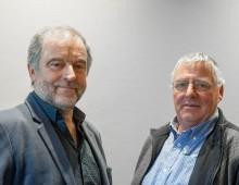Johan Devreese en Jan Dijkstra